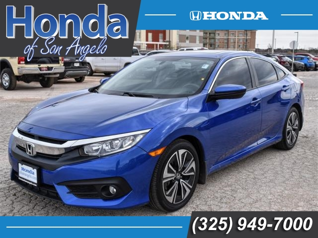 Pre-Owned 2017 Honda Civic EX-L CVT