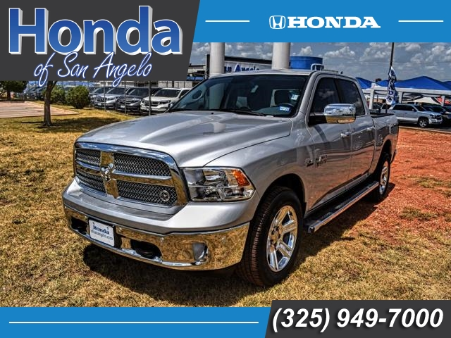 Pre-Owned 2018 Ram 1500 Lone Star Silver 4x2 Crew Cab 5'7