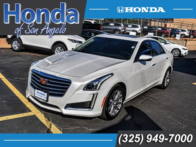 Pre-Owned 2018 Cadillac CTS 4dr Sdn 3.6L Luxury RWD