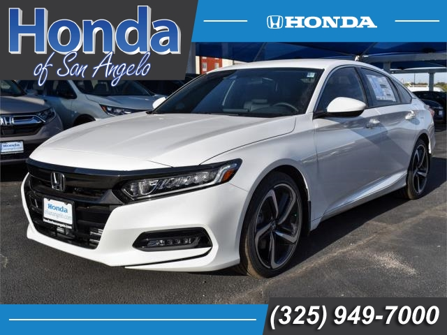 New 2018 Honda Accord Sport 1.5T CVT