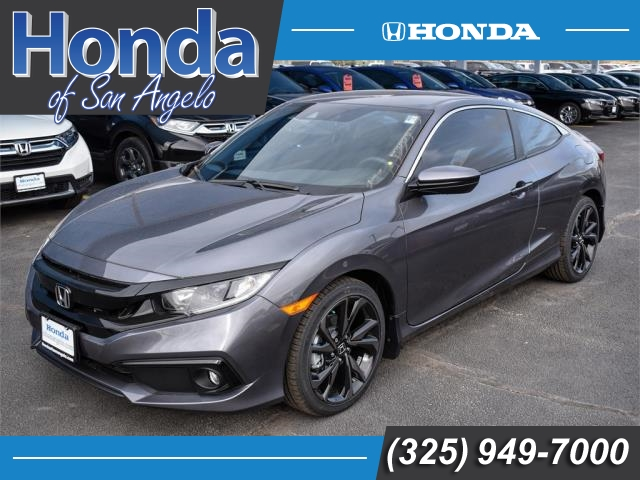 New 2019 Honda Civic Sport CVT