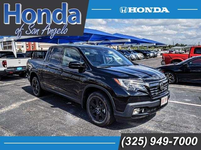 New 2018 Honda Ridgeline Black Edition