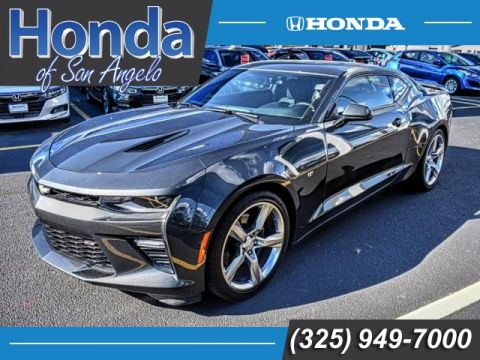 Pre-Owned 2018 Chevrolet Camaro 2dr Cpe SS w/1SS