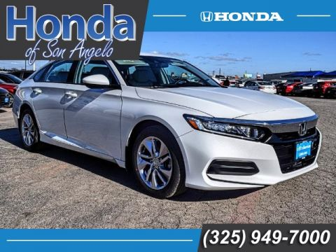 New 2018 Honda Accord LX 1.5T CVT
