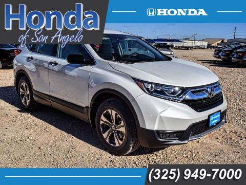 New 2018 Honda CR-V LX 2WD